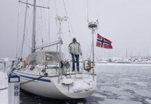 Vinterseiling i Holmestrand
